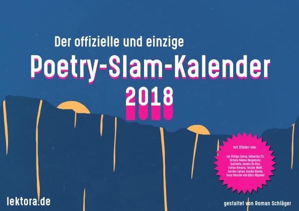 Poetry-Slam-Kalender 2018